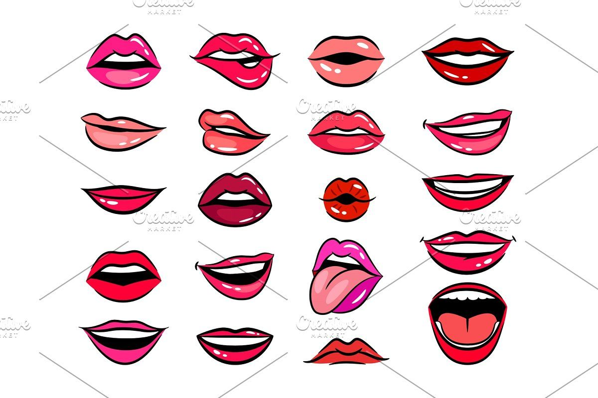 Female Tongue Liking Glossy Lips In 2020 Lips Illustration Lips Drawing Female Lips