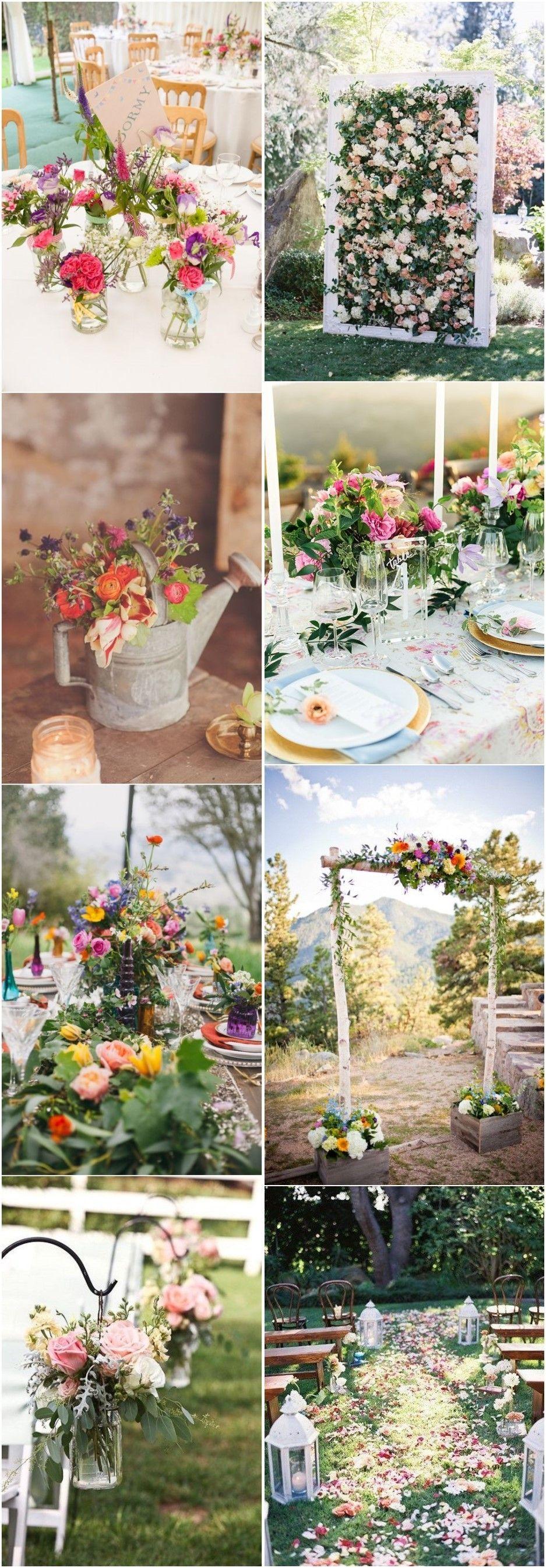 18 Summer Garden Wedding Ideas To Shine