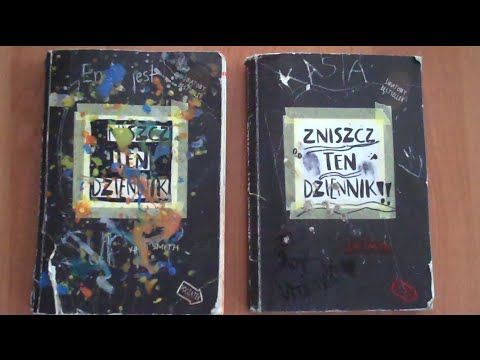 Zniszcz Ten Dziennik Razem Z Siostra Youtube Book Cover Cover