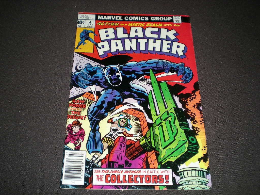 BLACK PANTHER #1 JACK KIRBY 1st Marvel Title 1977 comic FIVE x Movies FN//VF 7.0