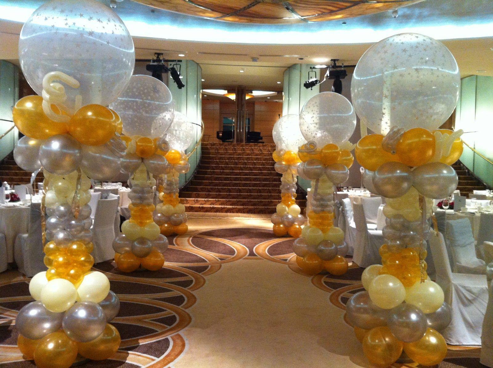 Wedding decoration ideas with balloons  birthday party themes for adults  Birthday party decorating ideas