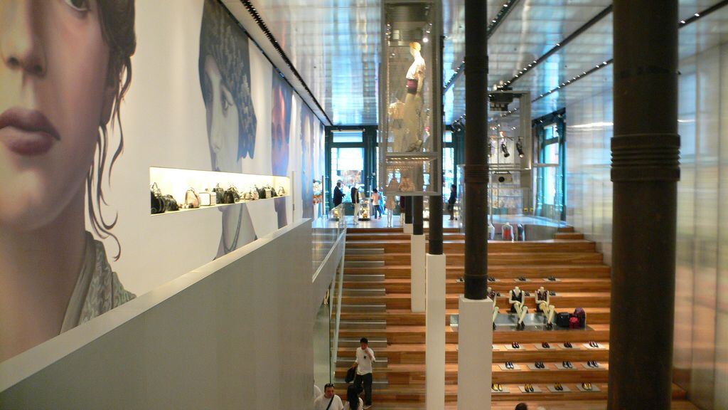 6aa6b85c186 Prada Soho by Rem Koolhaas (OMA) Flagship store