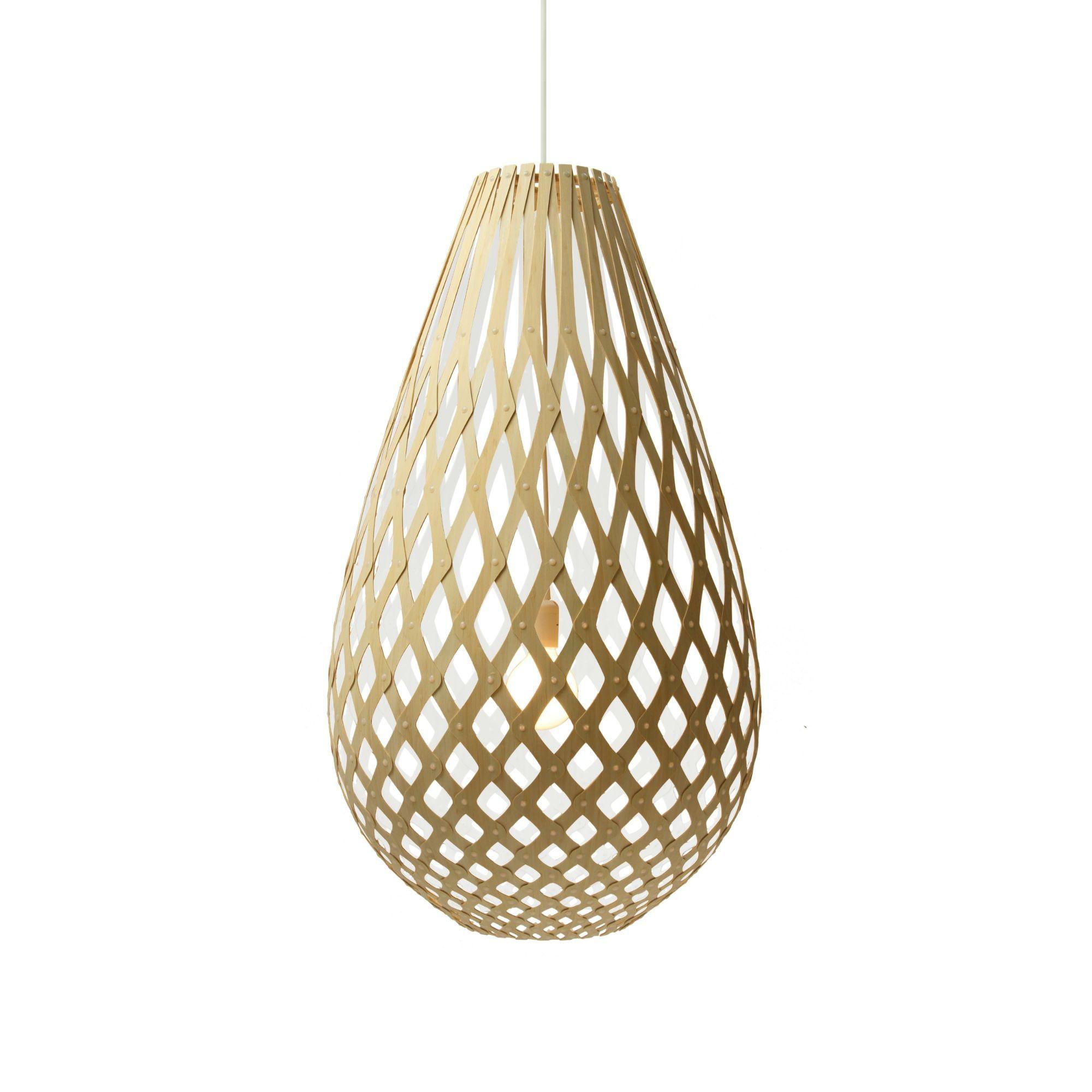 suspension bois blanc h50cm koura bois blanc david et suspension. Black Bedroom Furniture Sets. Home Design Ideas