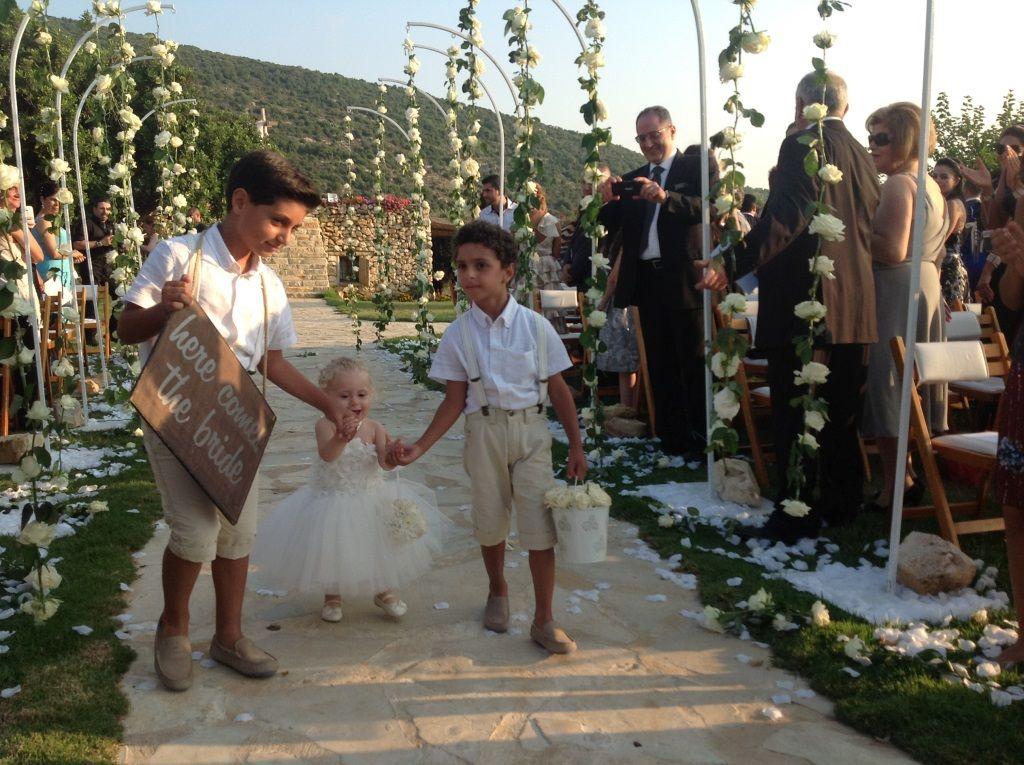 Arnaoon village wedding dress