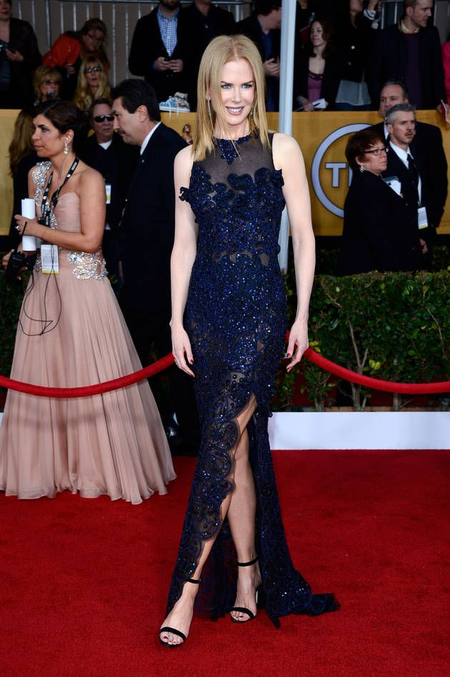 Nicole Kidman at the 19th Annual Screen Actors Guild Awards on January 27, 2013