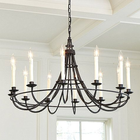 Collins 12 light chandelier i can absolutely recreate this design collins 12 light chandelier i can absolutely recreate this design by rope spray aloadofball Gallery