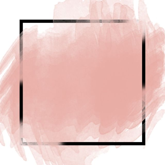 Rose Gold Brush Stroke And Border Png Texture Color Png
