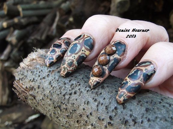 Painted Cheetah ....