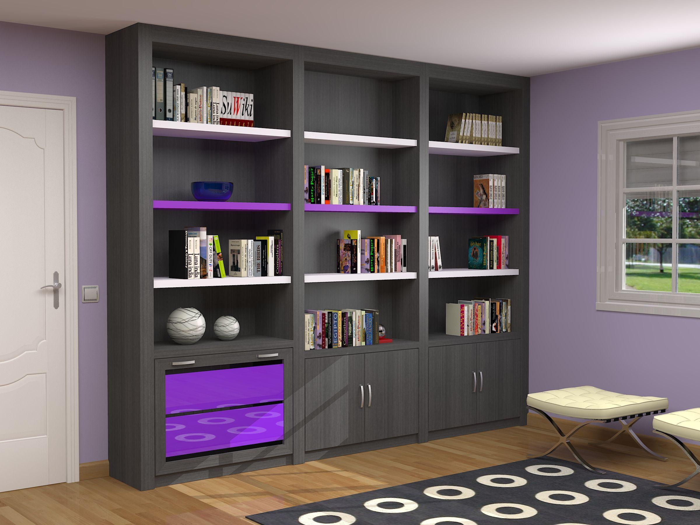 Sal N Compacto Moderno Fabricado A Medida En Cualquier Acabado  # Muebles Nazaret