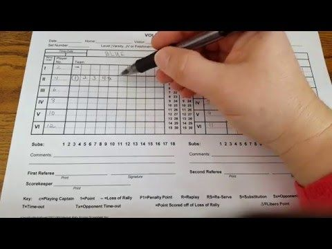 Mhsaa Volleyball Scoresheet  Youtube  For Me