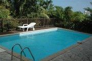 Appartement avec piscine dans cadre verdoyant , vue mer - Location Appartement #Guadeloupe #SainteRose