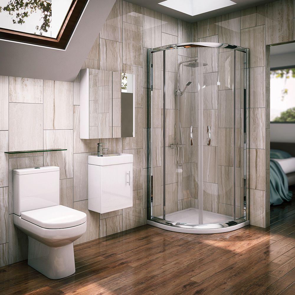 Ventura Quadrant Shower Enclosure with En-suite Set   s   Pinterest ...