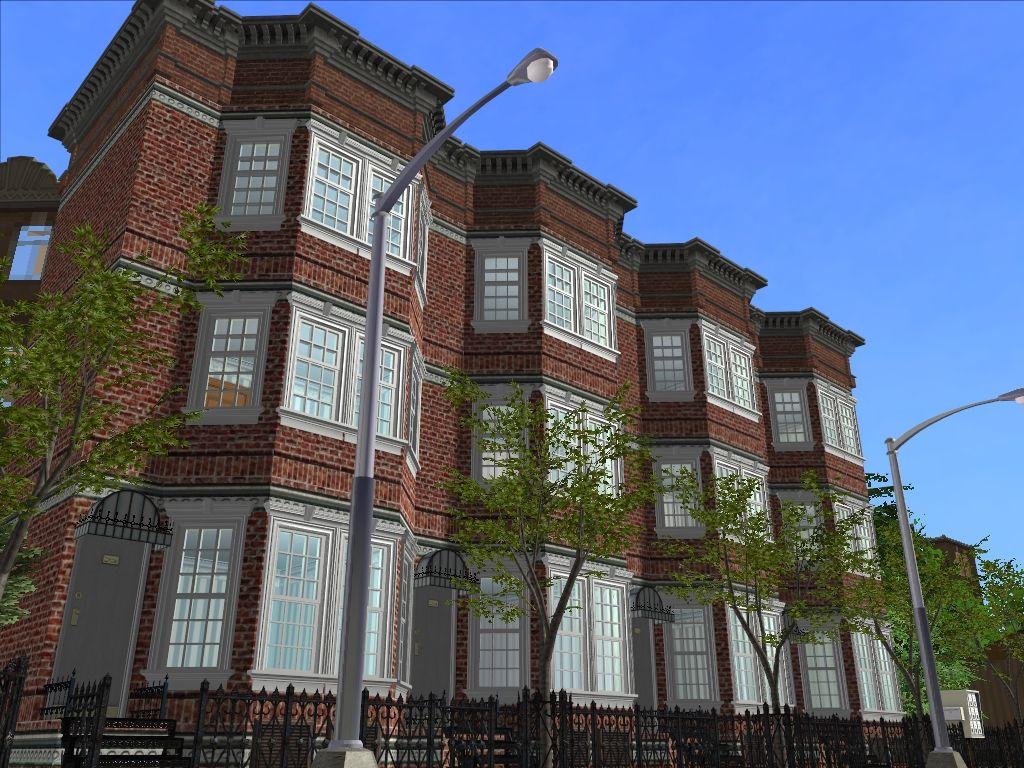 Rowhouses -medium to low density urban housing