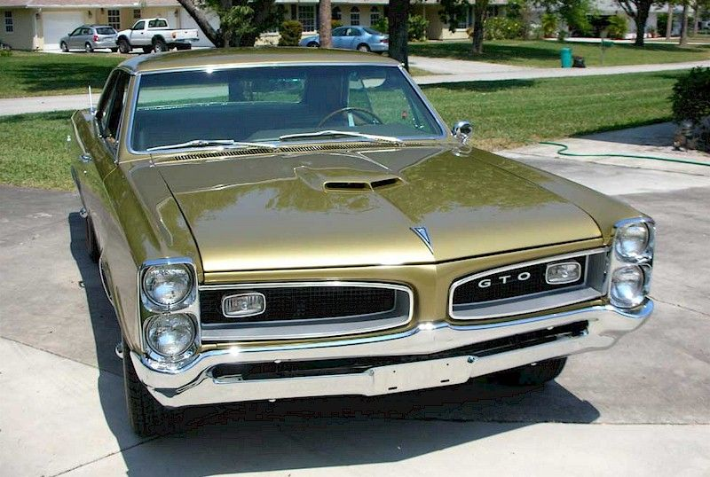 Gold 1966 Gto Hardtop Ultimategto Com Pontiac Gto Gto 1966 Gto