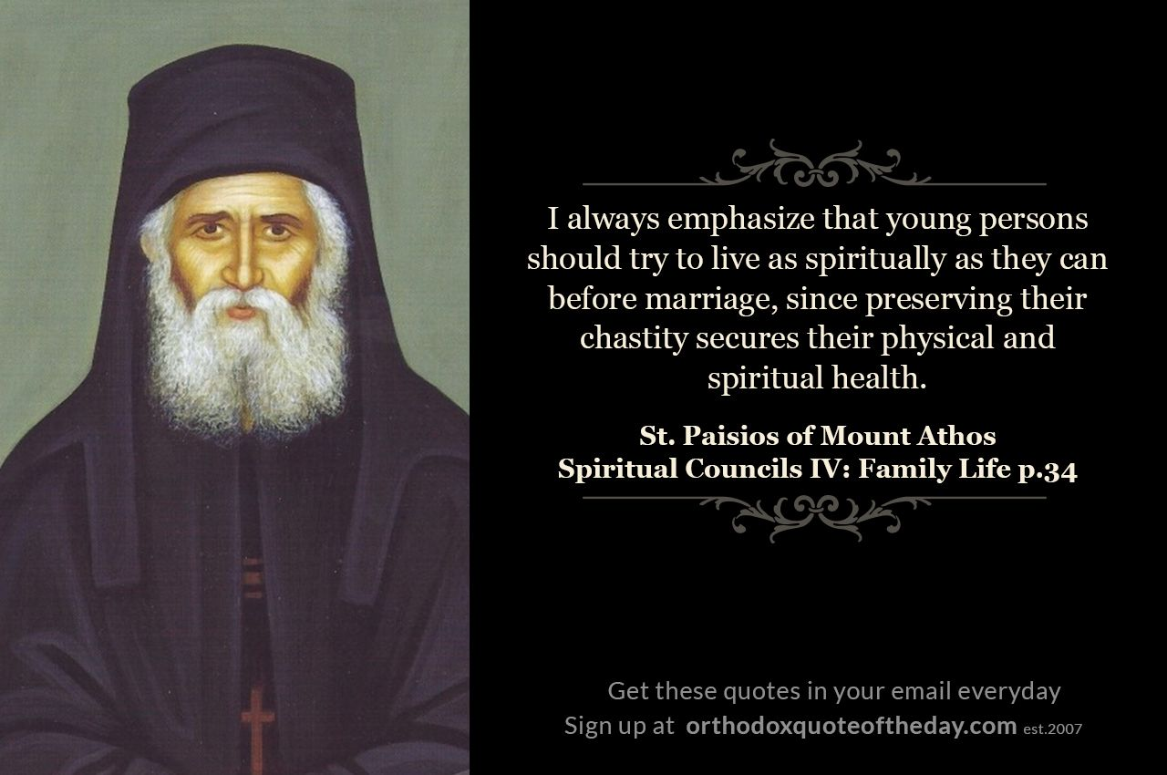 Spiritual Counsels 4 Family Life Saint quotes, Orthodox