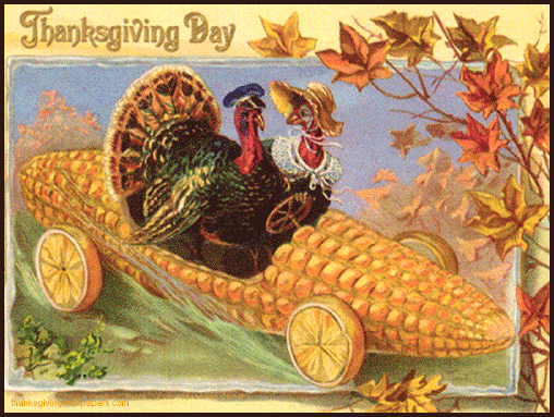 Victorian Style Thanksgiving cards | Vintage Thanksgiving Postcard ...