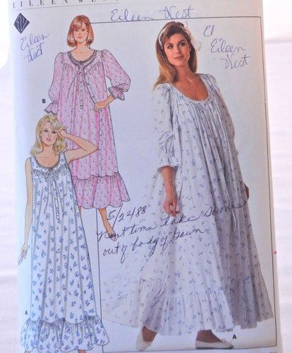 875ce3d2ae Nightgown and Robe Pattern