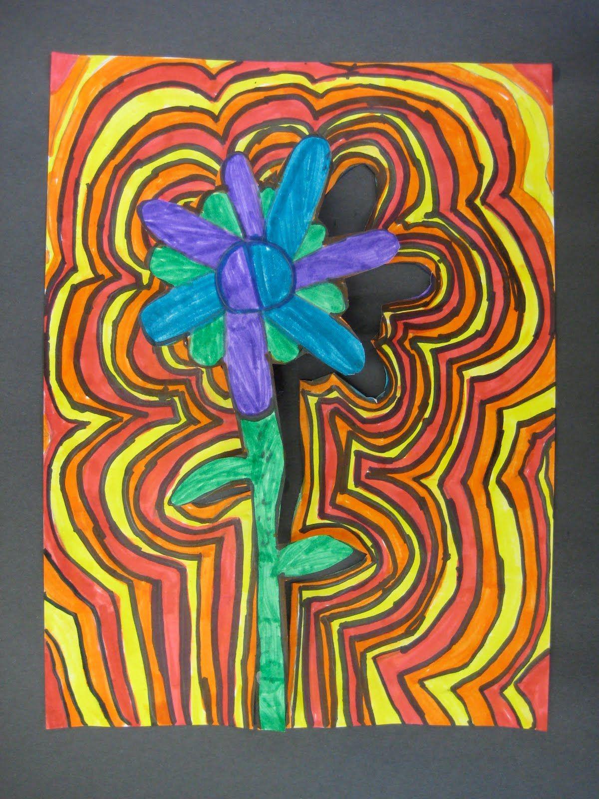 Art Projects From Mn Art Gal Echo Flower