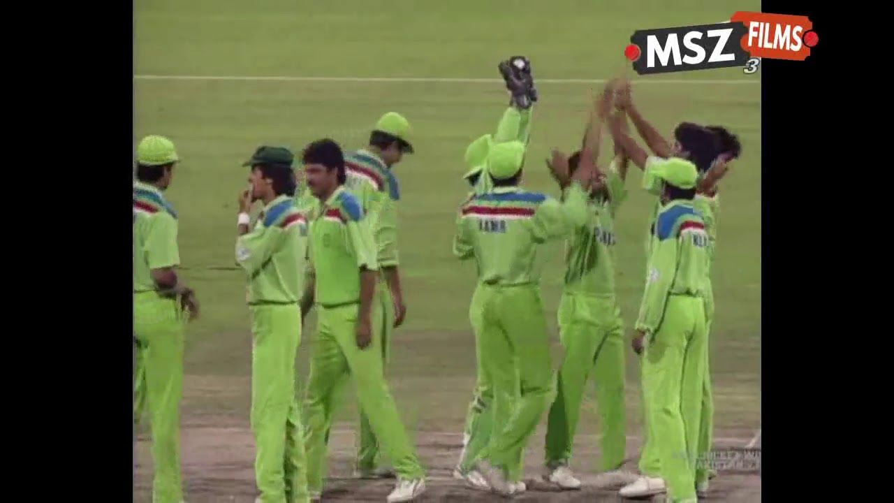 Pakistan Vs England 1992 World Cup Final Highlights Hd
