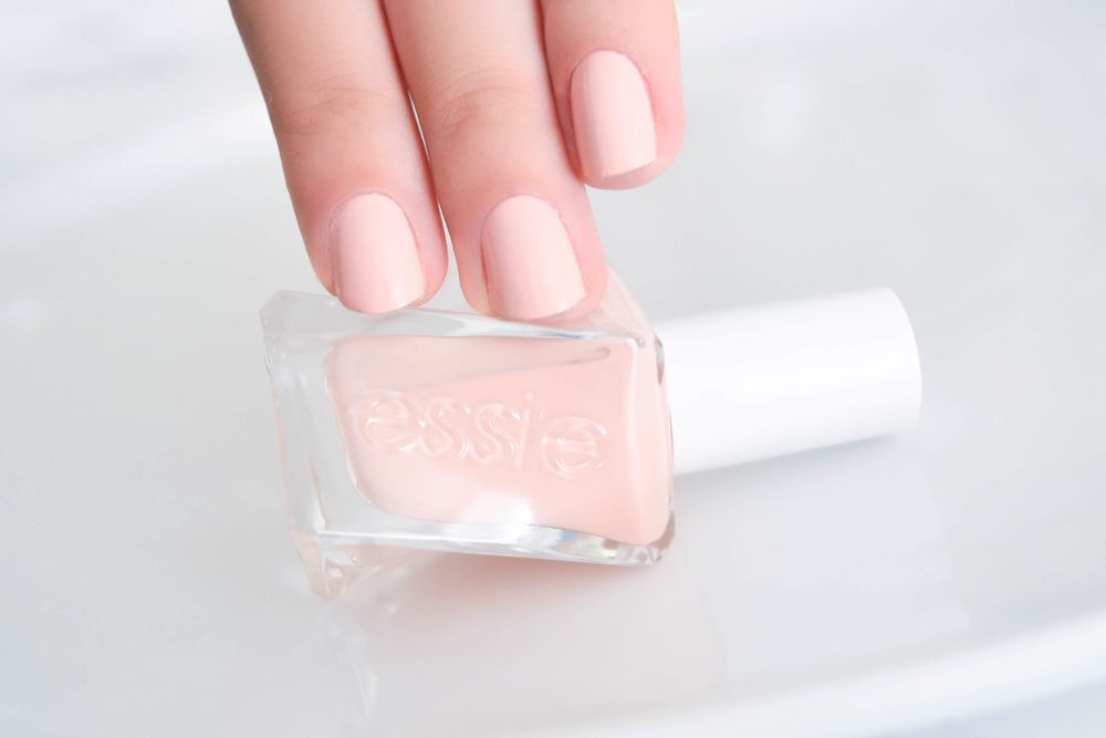 Essie Gel couture color: Spool Me Over [photo above]. This is a very ...