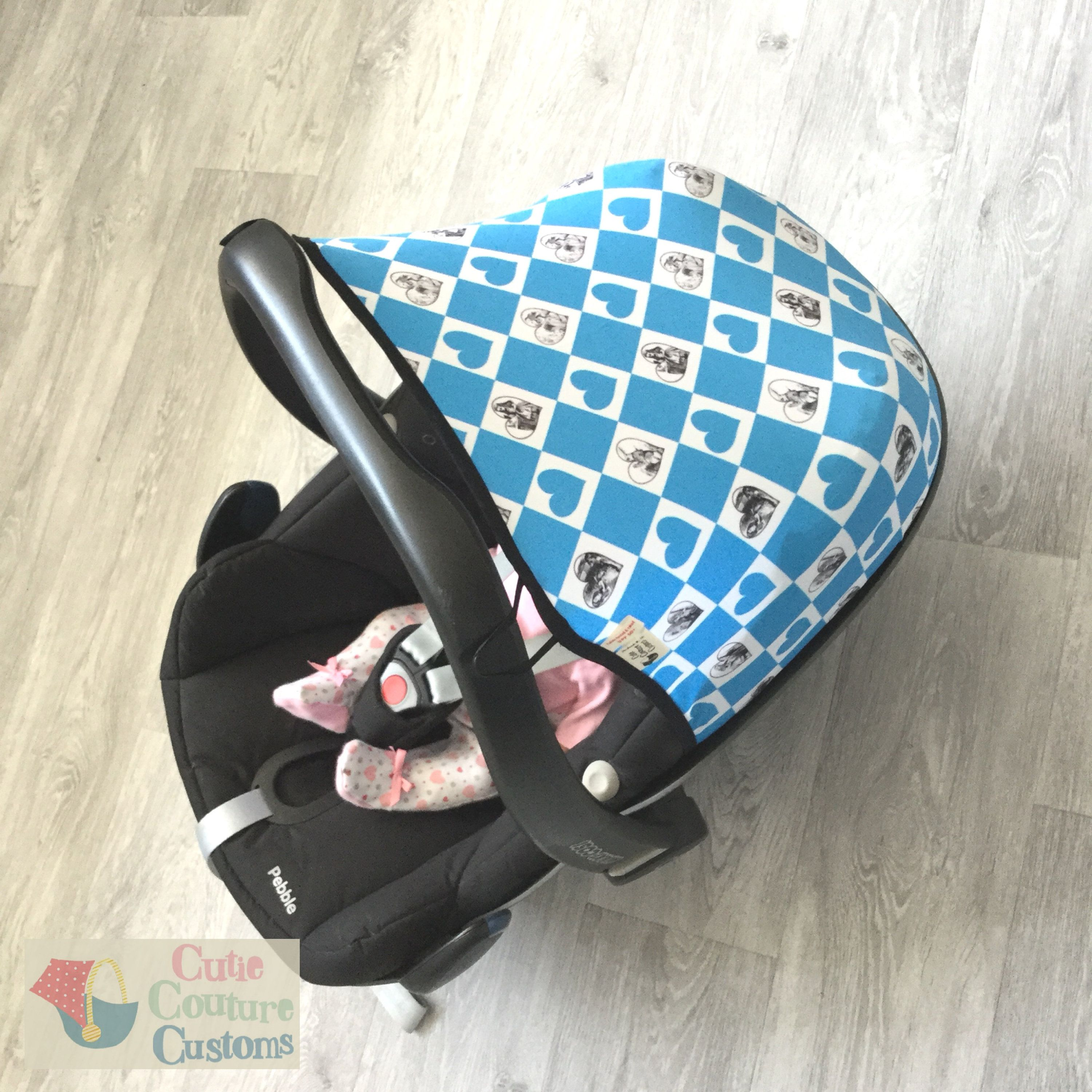 Alice in Wonderland - Carseat Cover - Maxi