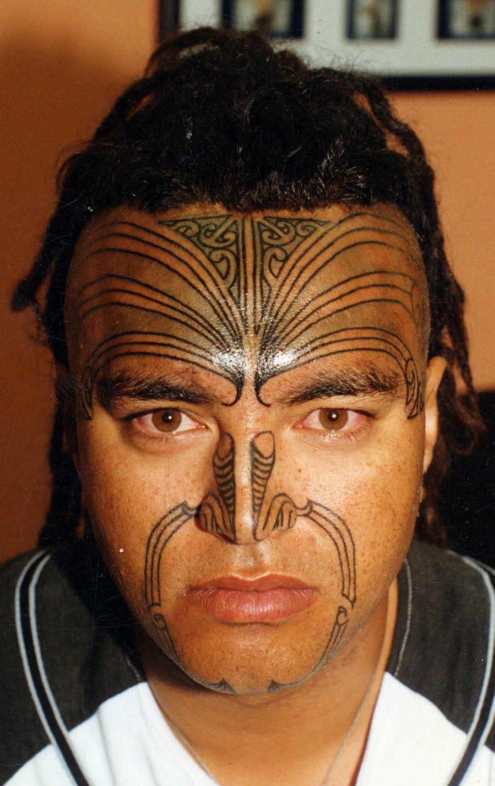 Maori Moko MAORI POLYNESIAN TATTOO Moko Maori tattoo