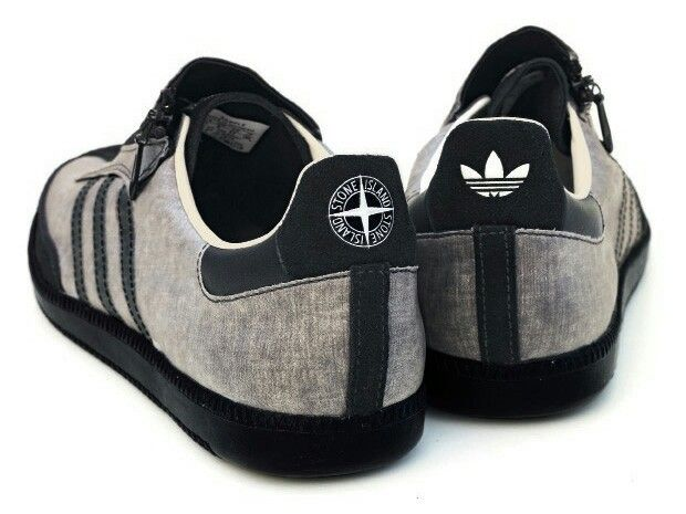 sports shoes 4c444 95d81 AN ADIDAS - STONE ISLAND COLLABORATION