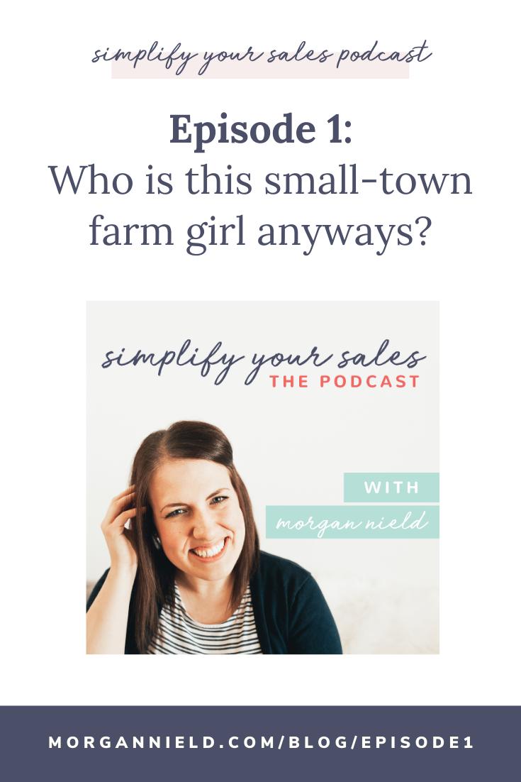 Blog post including podcast episode for Morgan Nield's pilot episode of her