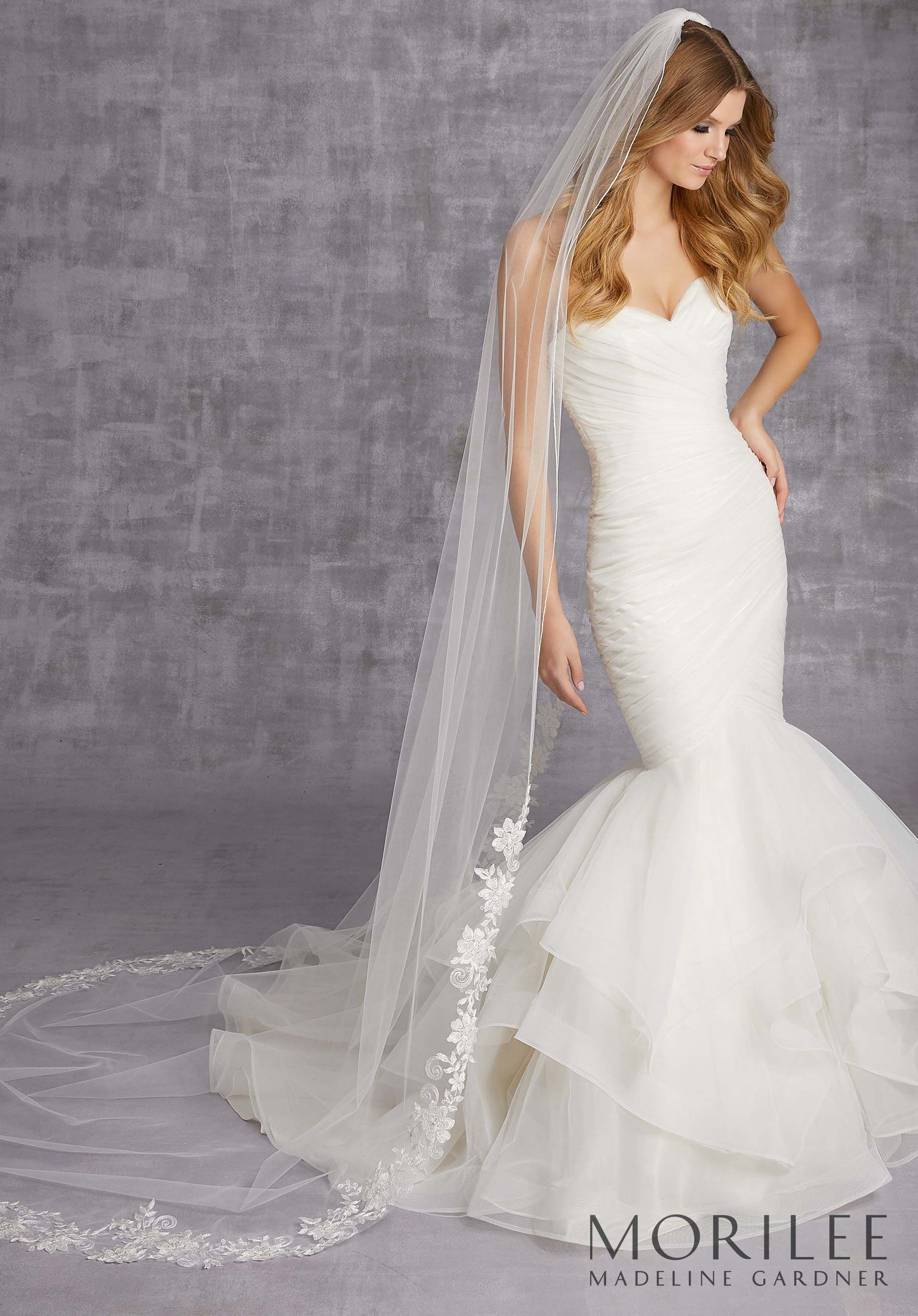 Mori lee madeline gardner wedding dress  Morilee  Madeline Gardner style VL  Stitched Edge Wedding