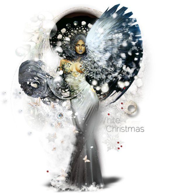 """Snow Angel for @ni-ke"" by alicja2204 on Polyvore"