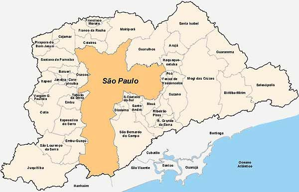 São Paulo - Estados e Capitais do Brasil