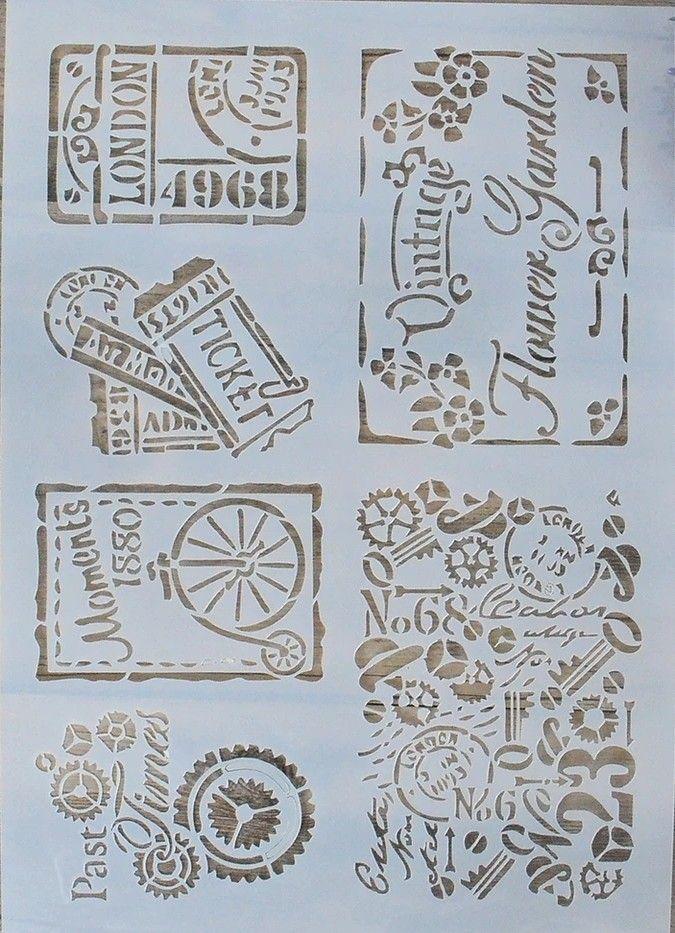 Stencils Plantilla para estarcir