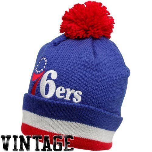 f6397eac Philadelphia 76ers Mitchell & Ness Jersey Stripe Cuffed Knit Hat Mitchell &  Ness. $23.33