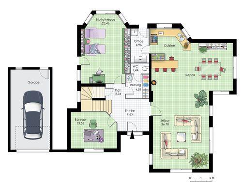 Maison familiale 10 Architecture
