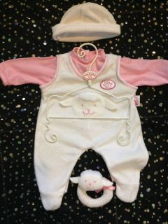 Baby Annabell Dolls Clothes 3 Piece Outfit Zapf Creations