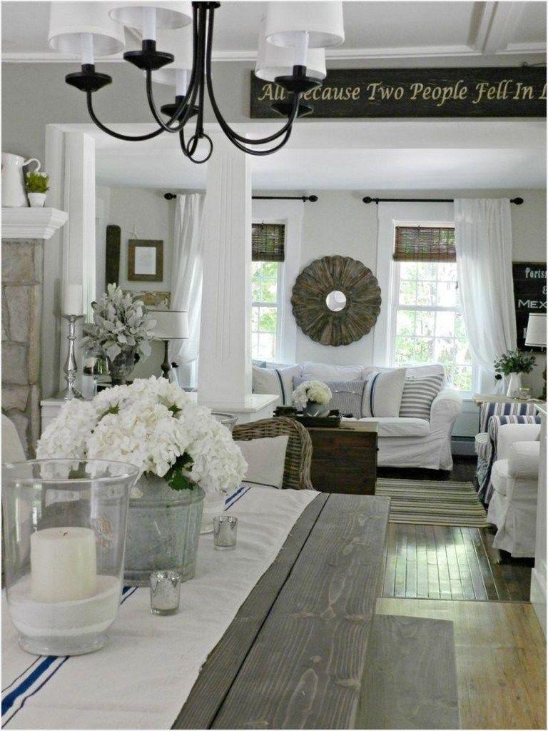 44 inspiring living room farmhouse style decorating ideas