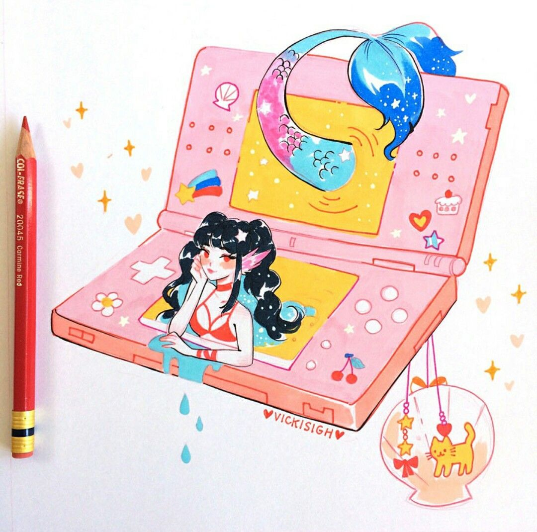 Pin By Adylla Kauany On Insta Art Marker Art Cute Art Art Sketchbook