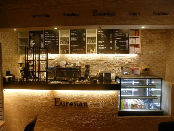 카페 카운터 - Google 검색  곤지암 카운터  Pinterest  Cafes, Interior ...