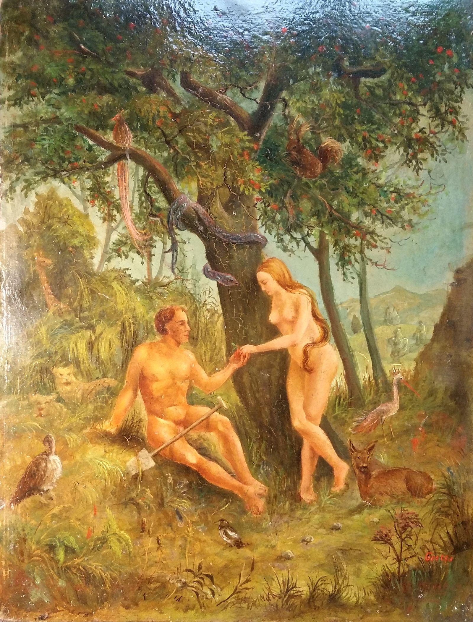 Der Kunst Blog Paradiesisch Adam Und Eva Im Garten Eden Adam Und Eva Garten Eden Garten
