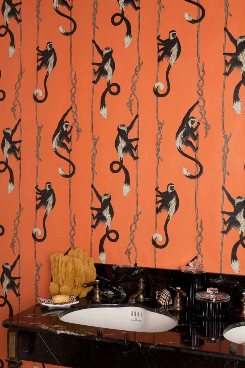 excellent funky wallpaper for house. katie scott  I worked on a new wallpaper collection for House of Hackney