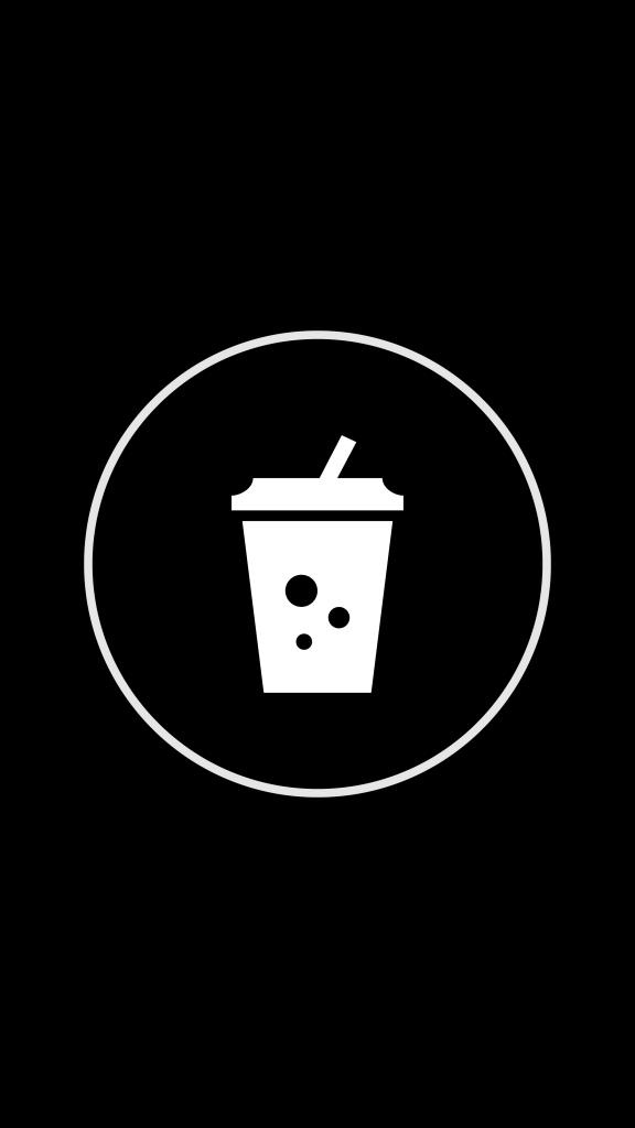 8 Free Black Instagram Story Highlight Covers Cherbear Creative Black And White Instagram Instagram Aesthetic Instagram Black Theme