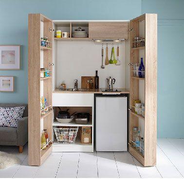 Kitchenette Ikea Et Autres Mini Cuisines Au Top In 2020 Small Kitchenette Kitchenette Mini Kitchen