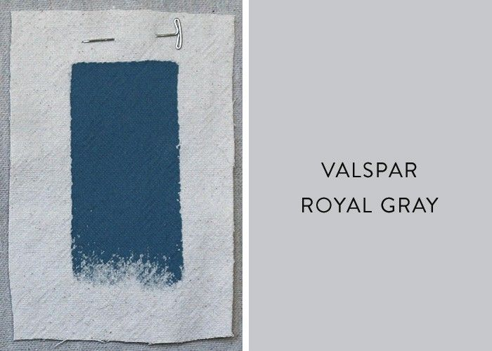 Best Ocean Inspired Cool Blue Paint Colors Valspar Royal Gray Remodelista Dark And Enough To Be Serious But Please Color