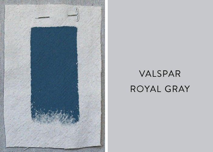 Palette Paints Coastline Inspired Blues Remodelista Valspar Paint Colors Gray Blue Bedroom Paint Valspar Paint Colors