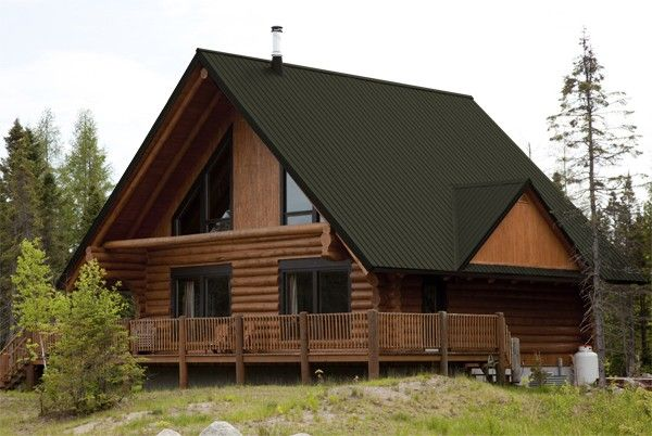 Unbelievable Showing Burnished Slate Tin Roof House