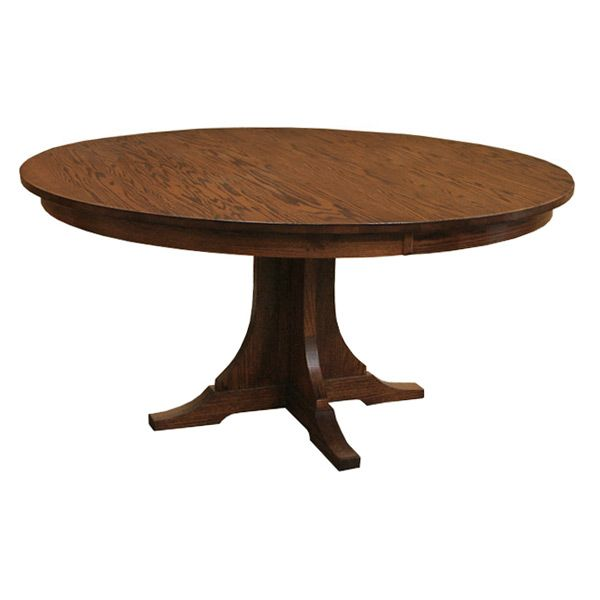 Lara Pedestal Dining Table In Brown Round Pedestal Dining Round