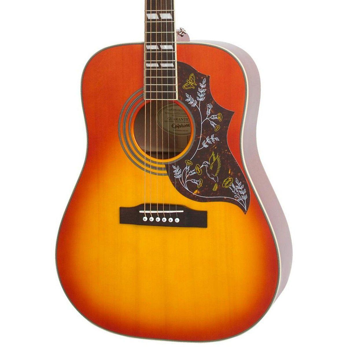 Epiphone Hummingbird Pro Acoustic Electric Guitar Electro Acoustic Guitar Acoustic Electric Guitar Acoustic Electric
