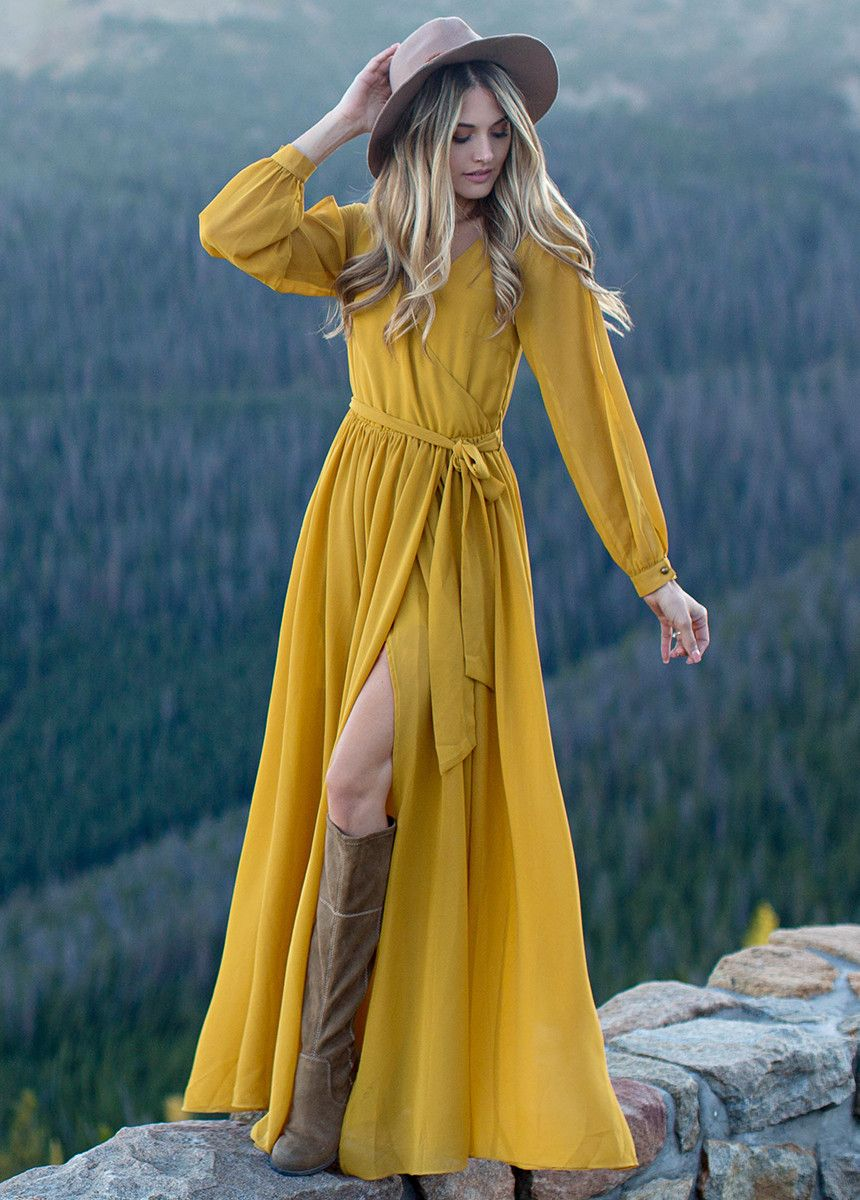 NEW Aniya Dress in Marigold Mademoiselle Clothes u Fashion