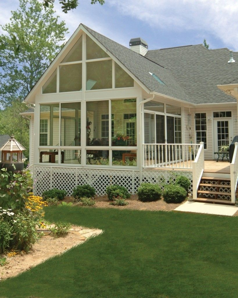 Beautiful patio enclosure design ideas 34 sunrooms designs for Backyard sunroom