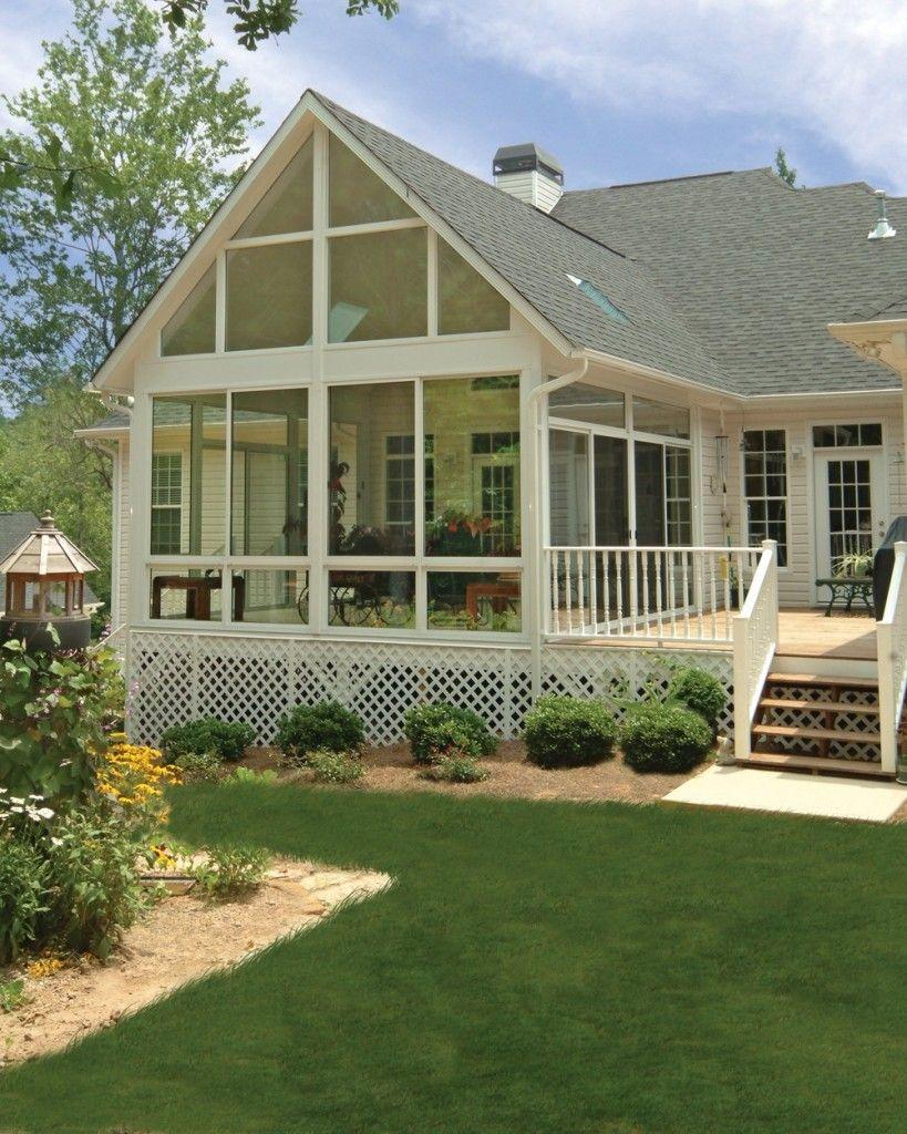 Beautiful Patio Enclosure Design Ideas 34 Sunrooms Designs ... on Cheap Patio Enclosure Ideas  id=34970